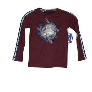 Marvel The Avengers - BOYS SIZE XS (4-5) L/S